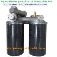 3194084000 Bộ lọc dầu có đế máy 380 và 410