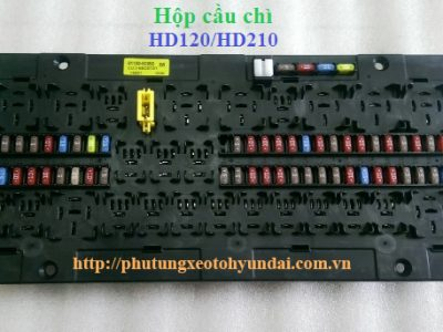 911006C050 Hộp cầu chì hyundai 5 tấn