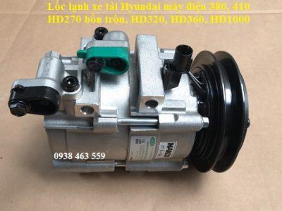 992507F630 Lốc lạnh xe tải hyundai d6ca máy 380 và 410